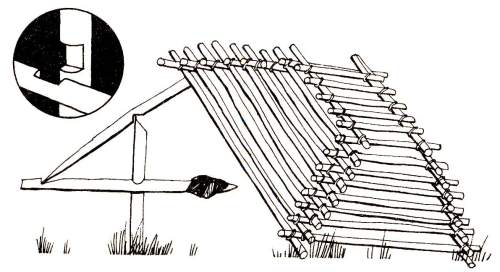 Ловушка для птиц схема