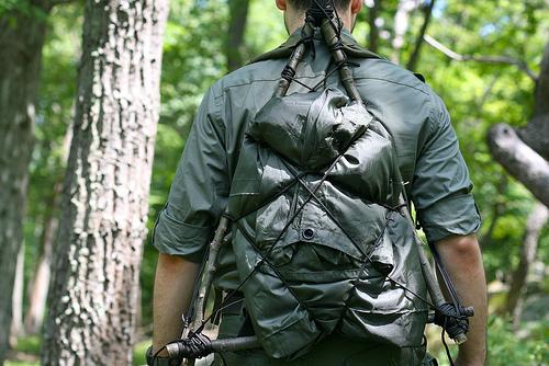 Рюкзак для туризма своими руками
