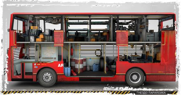 БП-мобиль автобус