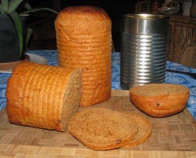 Хлеб в консервной банке