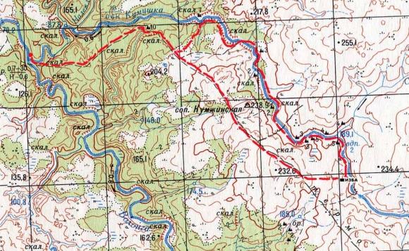 топографических карт