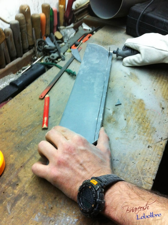 Ножны из ПВХ-трубы