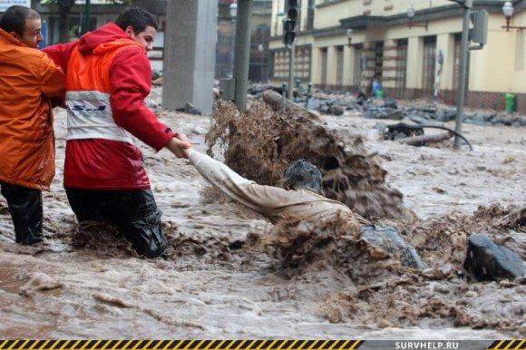 Выживание при наводнении