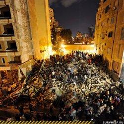 Действия при внезапном обрушении зданий