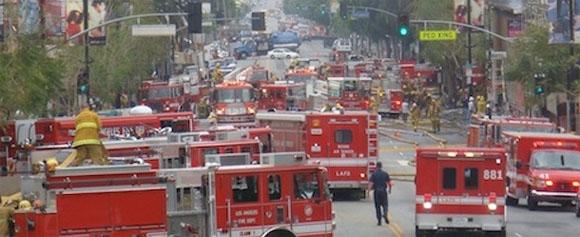 План эвакуации из города