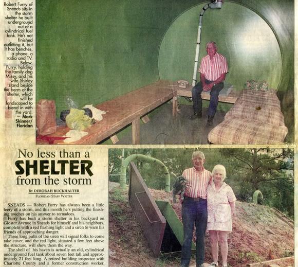 Убежище в топливной цистерне
