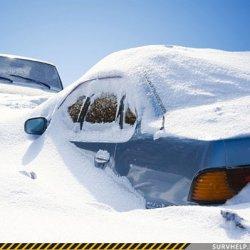 Как не замерзнуть, если ваш автомобиль попал в снежную бурю.