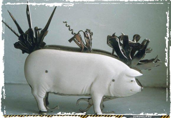 Советский мультитул Свинка