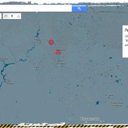 Карта выживания. Отряды сюрвивалистов и важные объекты на карте.