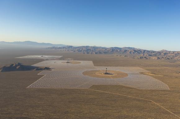 Солнечная электростанция на зеркалах