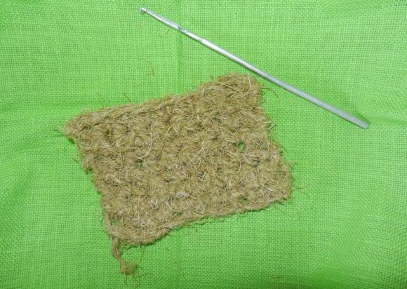 Лесная шерсть или пряжа из сосны
