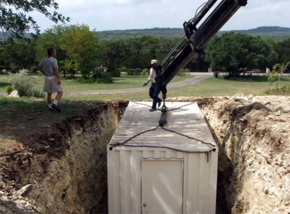 Подземное убежище своими руками