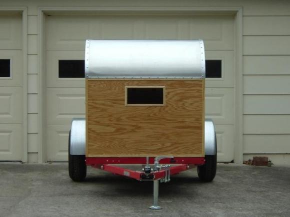 Дом на колёсах в прицепе