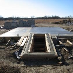Постройка подземного бункера на дачном участке