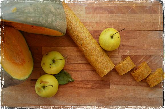 Пастила из яблок и тыквы