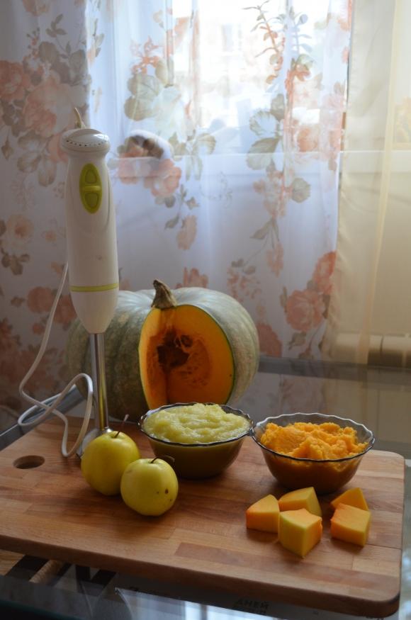 Пастила из яблок и тыквы в духовке