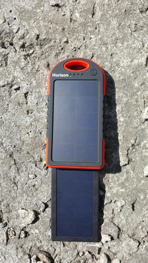 Обзор внешнего аккумулятора на солнечной батарее