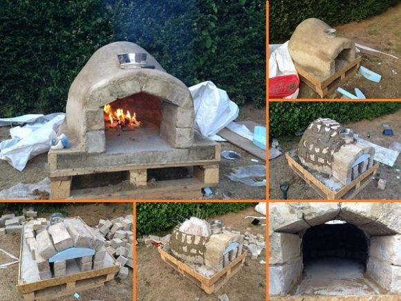 Печь для выпекания пиццы своими руками