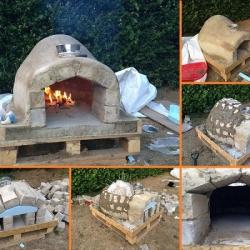 Печь для выпекания пиццы на открытом воздухе своими руками