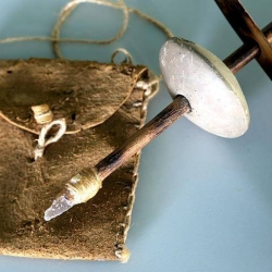 Ручная дрель, возрастом 7 500 лет